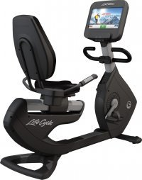 Life Fitness 95 Platinum Club Elevation Series , Recumbent Bike with  Discover SE  (Floor Model)