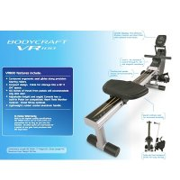 Bodycraft VR100 Rower Rowing Machine