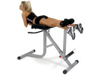Bodycraft F670 Hyper Extension And Oblique Roman Chair Bench
