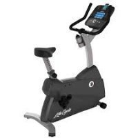 Lifefitness C1 upright Lifecycle Bike with Go Console