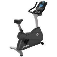 Lifefitness C3 upright Lifecycle Bike with Go Console