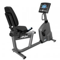 Lifefitness RS1 Lifecycle Recumbent Bike with Go Console